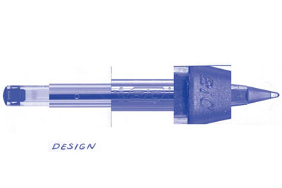 The design of the BIC-pen